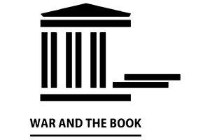 """logotyp konferencji naukowej """"Wojna i Książka"""""""