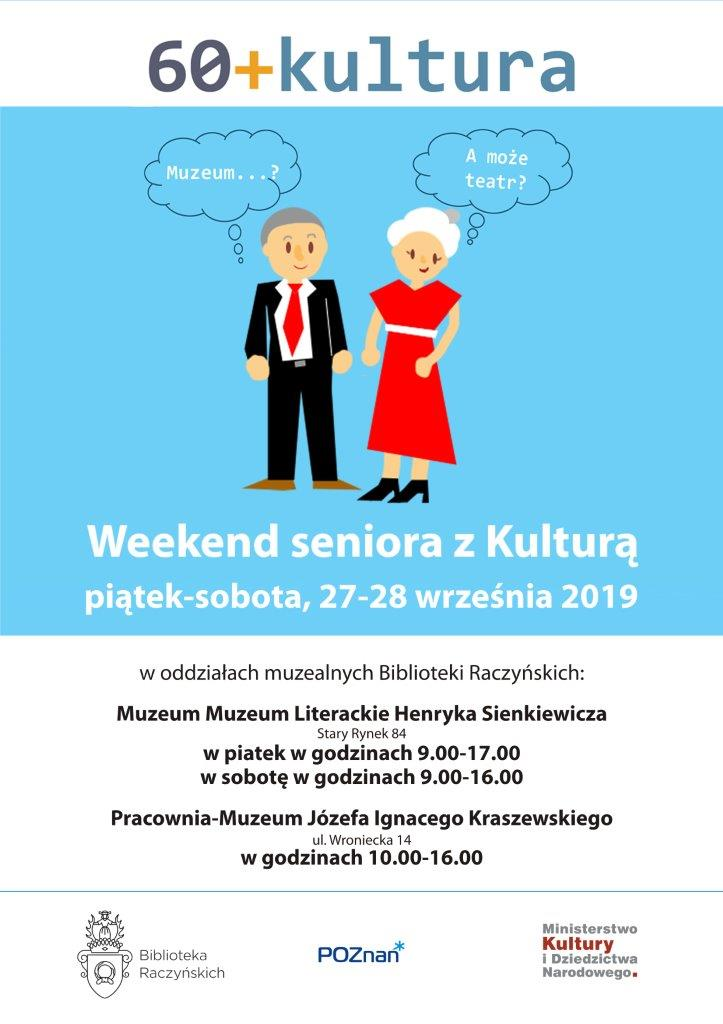 plakat - weekend dla seniora