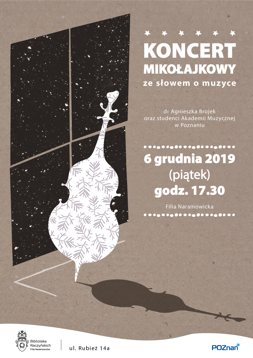 plakat kocertu mikołajkowego