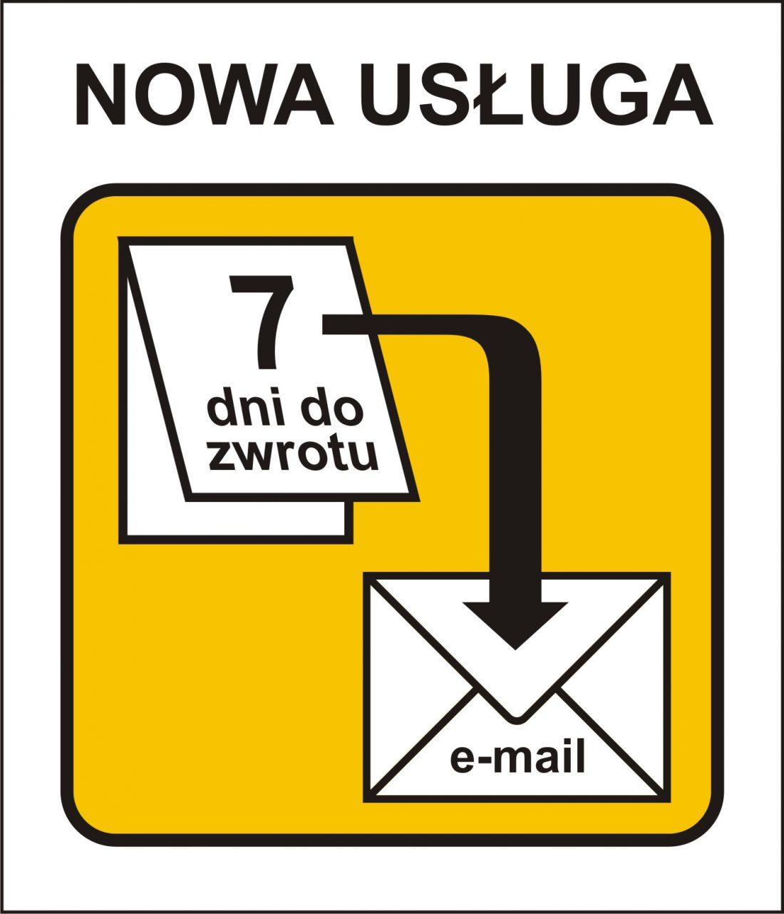 grafika o powiadamianiu mailowym