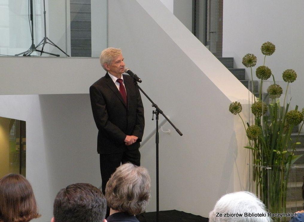 Otwarcie nowego gmachu Biblioteki Raczyńskich