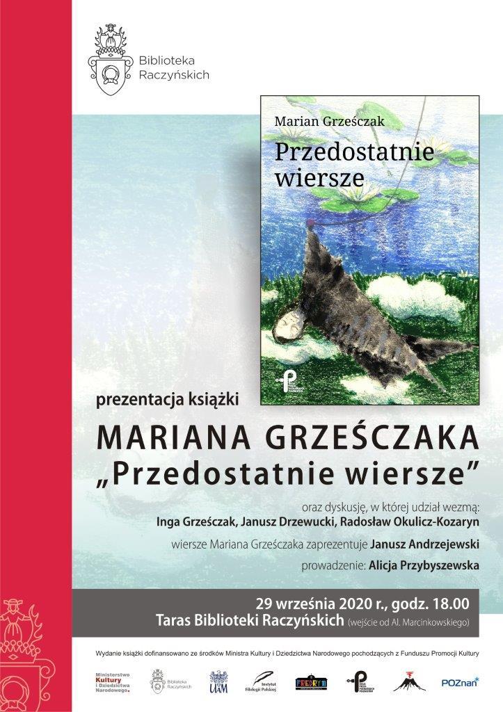 Plakat promocji książki