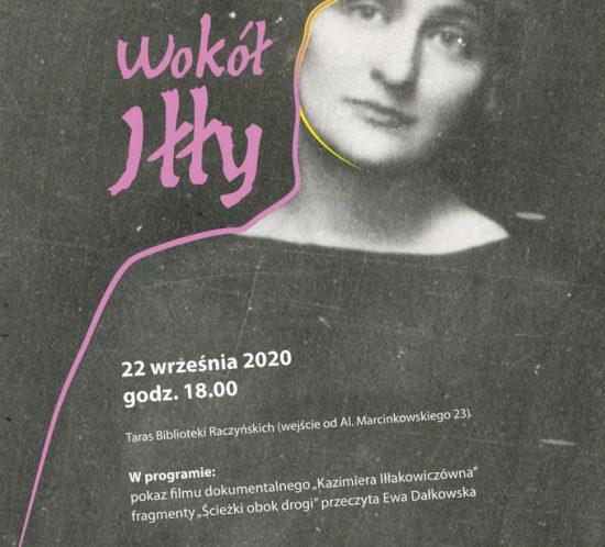 plakat wydarzenia Wokół Iłły