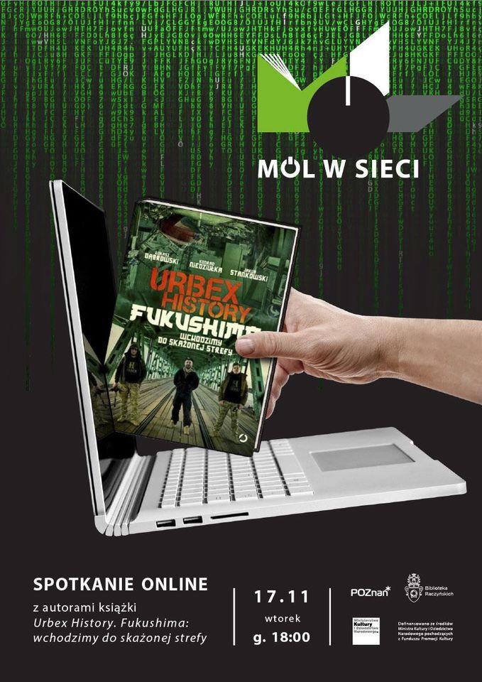 plakat spotkania Mól w sieci