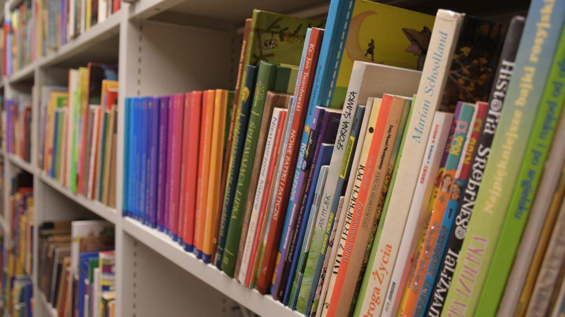 zdjęcie kolorowych książek z Archiwum