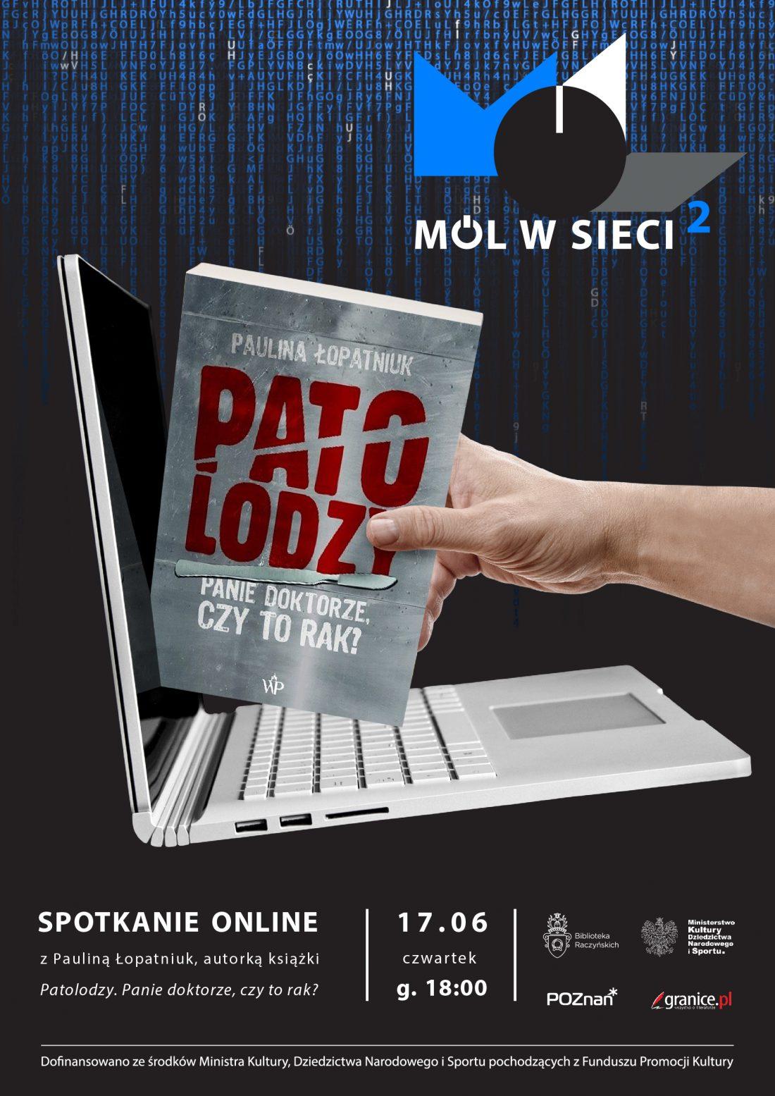 plakat spotkania z Pauliną Łopatniuk