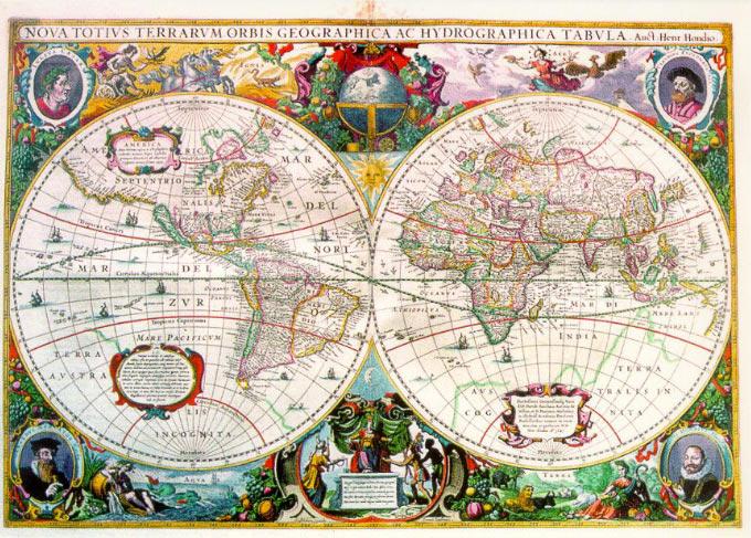 Atlas Janssoniusa 1647-1657